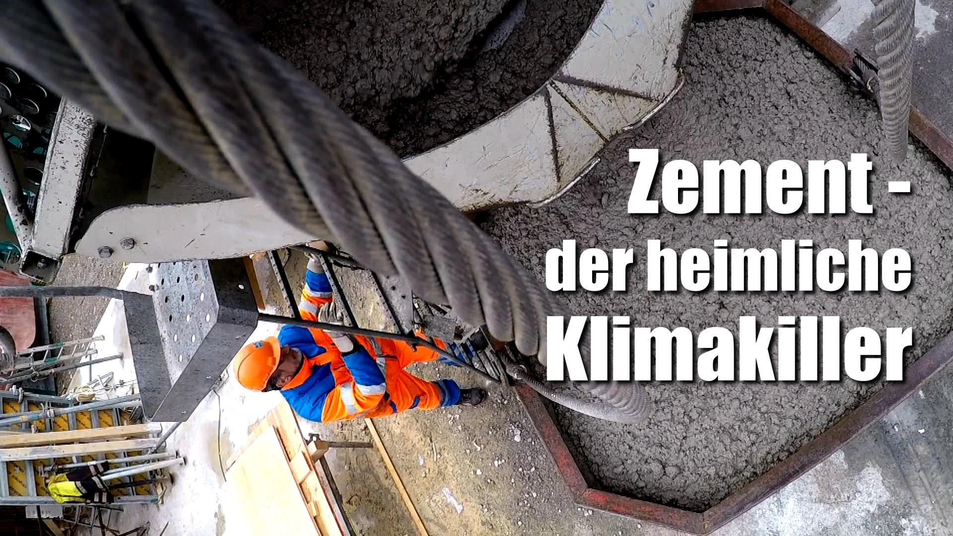 Zement – der heimliche Klimakiller