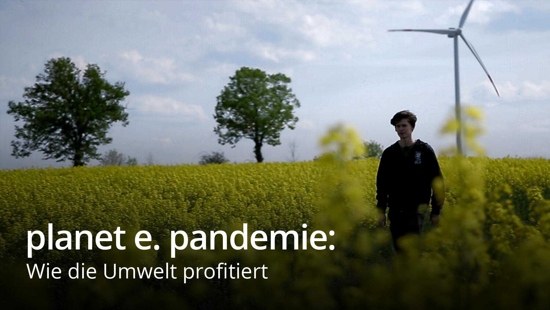planet e. pandemie: Wie die Umwelt profitiert